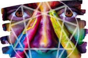 Immagine illustrativa dell'enneagramma (studio dei caratteri)
